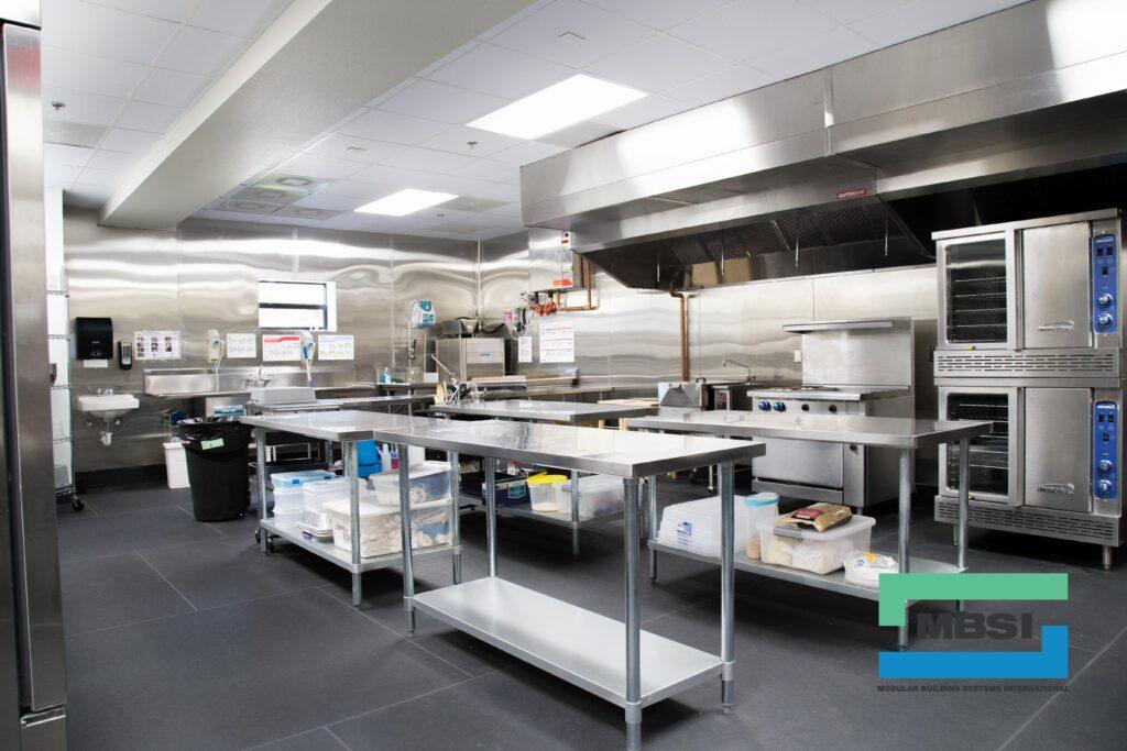 MBSI Modular Commercial Kitchen